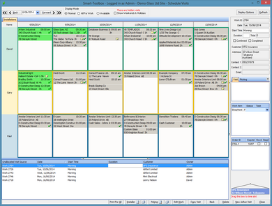 Smart-Toolbox makes scheduling easy!