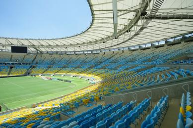 16,000 metre Q-railing balustrade were installed at Estádio de Maracanã in Rio