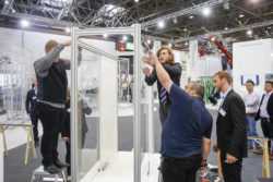 Photo: Trade fair impression glasstec