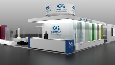 Guardian Industries at Glasstec 2014-Booth