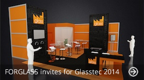 FORGLASS invites for Glasstec 2014
